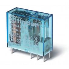 Миниатюрное универсальное электромеханическое реле;  2CO 8A;  катушка 12В DC (чувствит.);