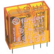 Миниатюрное универсальное электромеханическое реле;  2CO 8A; катушка 230В AC;