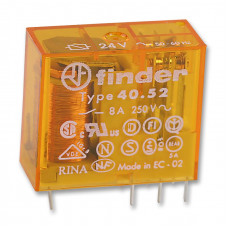 Миниатюрное универсальное электромеханическое реле;  2CO 8A;  катушка 60В AC; упаковка 10шт.