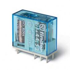 Миниатюрное универсальное электромеханическое реле;  2СO 6A;  катушка 12В DC; упаковка 10шт.