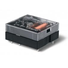 Миниатюрное универсальное электромеханическое реле;  плоские; 1CO 16A;  катушка 12В DC (чувствит.);