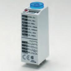 Миниатюрный мультифункциональный таймер (AI, DI, SW, GI);  питание 24В АС/DC; 3CO 10A; регулировка времени 0.05с…100ч;