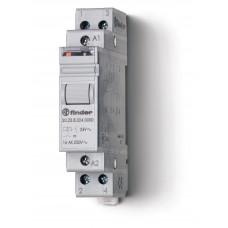Модульное электромеханическое шаговое реле; 1NC+1NO 16А, 2 состояния;  питание 24В DC;