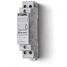 Модульное электромеханическое шаговое реле; 1NO 16А, 2 состояния;  питание 12В DC;