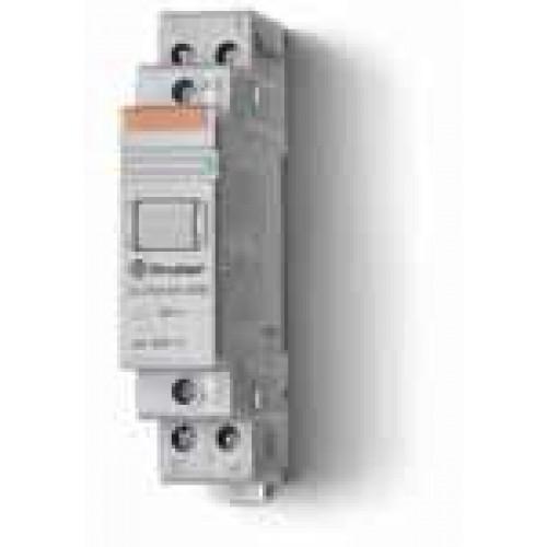 Модульный контактор; 1NO+1NC 20А;  катушка 110В АС; 222381104000