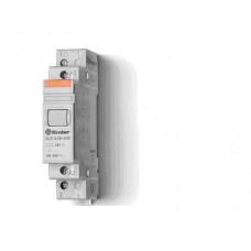 Модульный контактор; 1NO+1NC 20А;  катушка 24В АС;