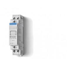Модульный контактор; 2NO 20А;  катушка 12В DС;