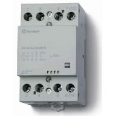 Модульный контактор; 4NO 63А;  катушка 24В АС/DC;опции: мех.индикатор