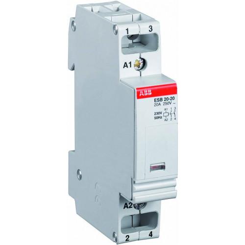 Модульный контактор ESB-20-20 (20А AC1) 220 В АС GHE3211102R0006