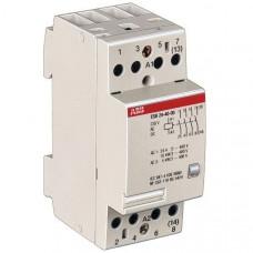 Модульный контактор ESB-24-22 (24А AC1) катушка 110B AC/DC