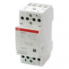 Модульный контактор ESB-24-40 (24А AC1) катушка 24B AC/DC