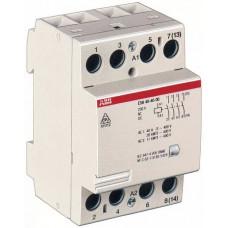 Модульный контактор ESB-40-22 (40А AC1) катушка 220В АС/DC