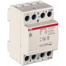 Модульный контактор ESB-40-40 (40А AC1) катушка 24B AC/DC