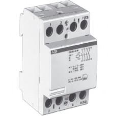 Модульный контактор ESB-63-40 (63А AC1) катушка 12B AC/DC
