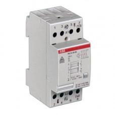 Модульный контактор с ручным управлением EN24-40 (24А AC1) катушка 24AC/DC