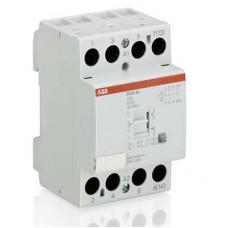 Модульный контактор с ручным управлением EN40-40 (40А AC1) катушка 230 AC/DC