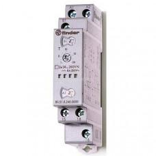 Модульный таймер мультифункциональный (AI, DI, SW, BE, CE, DE); питание 24…240В АС/DC; 1CO 8A;регулировка времени 0.1с…24ч;