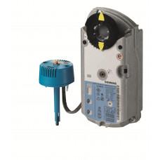 Привод противопожарной заслонки, 7 Nm, пружинный возврат, 2-поз., AC/DC 24