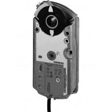 Привод воздушной заслонки, поворотный, 7 Nm, пружинный возврат, DС 0…10 V,  AC/DC 24