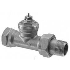 Радиаторный клапан, 2-ходовой, Kvs 0.09…0.63, Dn 10