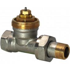 Радиаторный клапан, 2-ходовой, Kvs 0.10…0.89, Dn 15