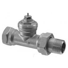 Радиаторный клапан, 2-ходовой, Kvs 0.31…1.41, Dn 20