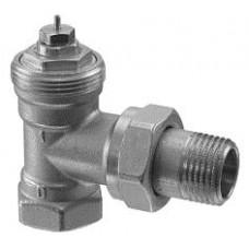 Радиаторный клапан, 2-ходовой, PN10, DN10, kv 0.09..0.63