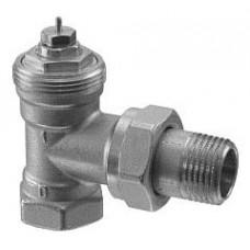 Радиаторный клапан, 2-ходовой, PN10, DN15, kv 0.10..0.89