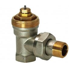 Радиаторный клапан, 2-ходовой, PN10, DN15, kvs 0.10..0.89