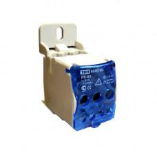 Распределительный блок на DIN-рейку РБ-80 1П 80А (1х16/4х6+2x16) TDM SQ0823-0001