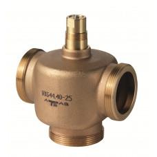 Регулирующий клапан, 3-х ходовой, Kvs 25, Dn 40, шток 5.5