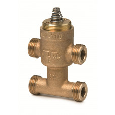 Регулирующий клапан, 3-ходовой, Kvs 0.4, Dn 10, шток 2.5