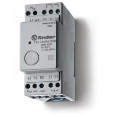 Реле контроля уровня; фиксированный диапазон чувствительности 150кОм; питание 24В AC; выход 1CO 16А;