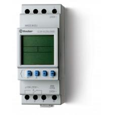 Реле времени цифровое ASTRO; монтаж на рейку 35мм; 1СO 16A; питание 230В АC; ширина 35.8мм;