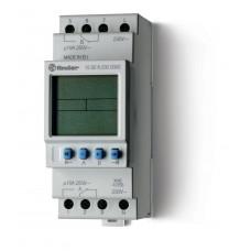 Реле времени цифровое ASTRO; монтаж на рейку 35мм; 2СO 16A; питание 230В АC; ширина 35.8мм;
