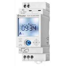 Реле времени цифровое недельное ASTRO; монтаж на рейку 35мм; 1СO 16A; питание 110…230B AC/DC; NFC;