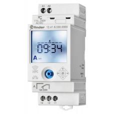 Реле времени цифровое недельное; монтаж на рейку 35мм; 1СO 16A; питание 110…230B AC/DC; NFC;