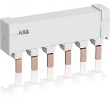 Шинная разводка 3-фазн. PS2-2-0-125 до 125А для соединения соединения 2-х автоматов типа MS165, MO165 без доп. контактов
