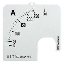 Шкала для амперметра SCL 1A5/100