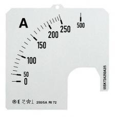 Шкала для амперметра SCL-A5-600/96