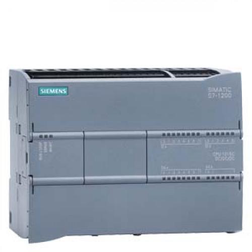 SIMATIC S7-1200, КОМПАКТНОЕ CPU 1215C, AC/DC/RELAY, 2 ПОРТА PROFINET, ВСТРОЕННЫЕ ВХОДЫ/ВЫХОДЫ: 14 DI 6ES72151BG310XB0