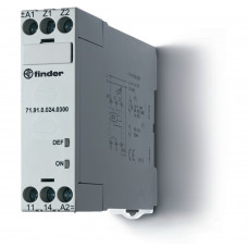 Термисторное реле (PTC); без памяти отказов; питание 230В АС; выход 1NO 10A; ширина 22.5мм;