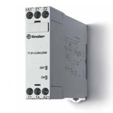 Термисторное реле (PTC); без памяти отказов; питание 24В АС/DC; выход 1NO 10A;