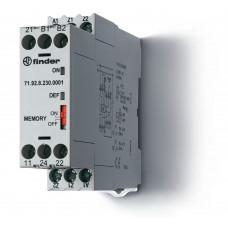 Термисторное реле (PTC); память отказов; питание 230В АС; выход 2СO 10A; ширина 22.5мм;