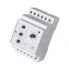 Терморегулятор Devireg D316, от -10°C до +50°C, уст. на DIN-рейку (с датчиком пола) 140F1075