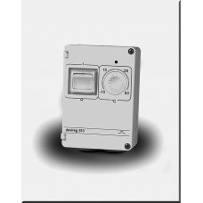 Терморегулятор Devireg D610, IP44, открытого монтажа (с датчиком на проводе)    140F1080