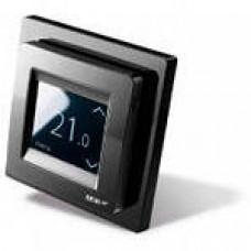 Терморегулятор DEVIreg Touch сенсорный, скрытого монтажа, черный (с датчиком)    140F1069