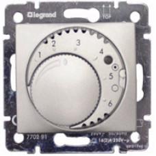 Термостат Legrand Valena для теплого пола (алюминий)   770291