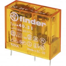 Миниатюрное универсальное электромеханическое реле;  1СO 10A;  катушка 12В AC;