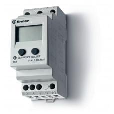 Универсальное контрольное реле напряжения для 1-фазных сетей AC/DC; пониженное/повышенное напряжение;выход 1CO 10А;